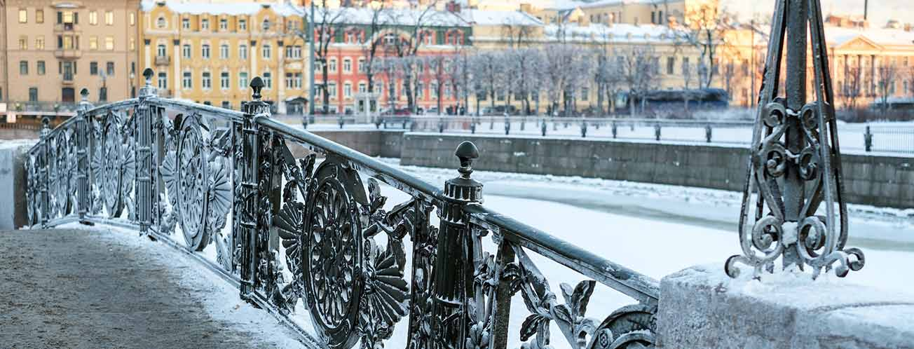 St Petersburg in winter