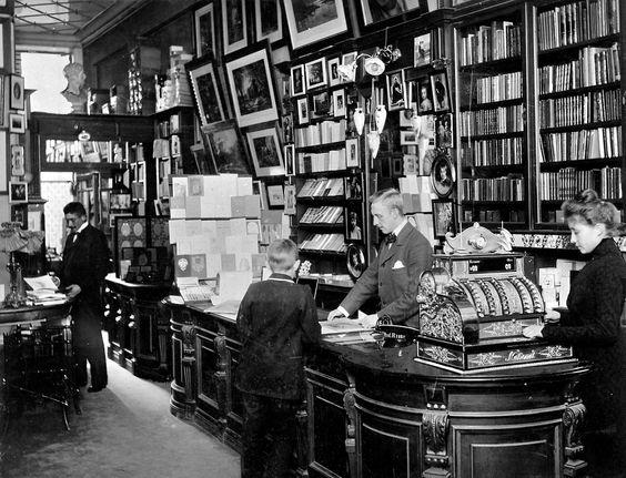 Victorian bookshop